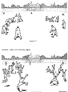 How's that?! by Fougasse, July 1921, Punch