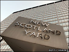 Exterior of Scotland Yard