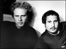 Art Garfunkel and Paul Simon in 1969
