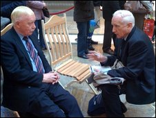 Tom Hanrahan (r) & Malcolm McLean