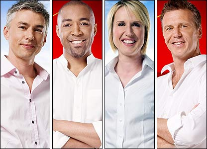 BBC Sport's athletics pundits