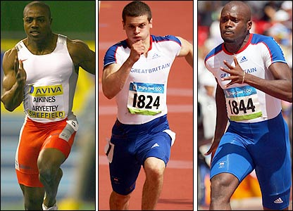 Harry Aikines-Aryeetey, Craig Pickeringm, Simeon Williamson