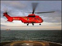 Вертолет компании Bond (архивное фото)