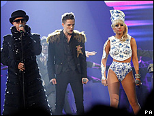 Pet Shop Boys with Brandon Flowers and Lady GaGa