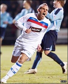 Rangers midfielder Aaron Niguez