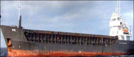 The Antari - pic courtesy Marine Accident Investigation Branch