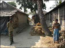 Village on the India-Bangladesh border