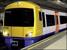 New London Overground train
