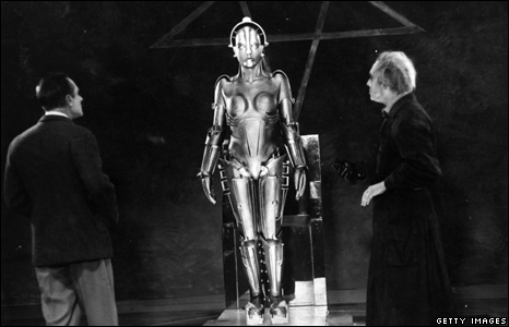 Filming of cult movie Metropolis