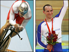 Olympic champion Jason Queally and Paralympic champion Anthony Kappes