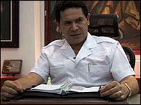 Gregorio Sánchez, alcalde de México