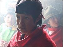 Niño indígena