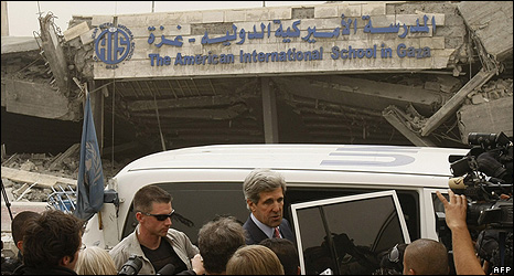 Former US presidential candidate John Kerry 