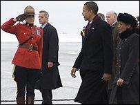 Барак Обама в Канаде