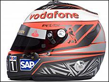 Heikki Kovalainen's helmet for 2009