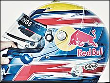 Mark Webber's 2009 helmet