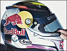 Sebastian Vettel's 2009 helmet