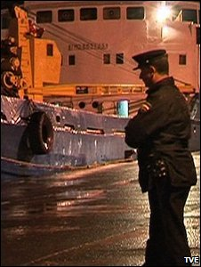 Police officer (Image: TVE)