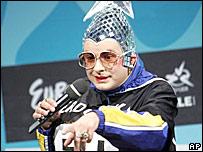 """Верка Сердючка на """"Евровидении-2007"""""""