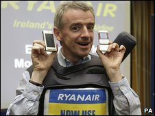 Ryanair chief executive Michael O Leary