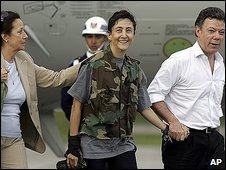 Ingrid Betancourt (2.7.2008)