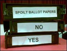 Harris ballot