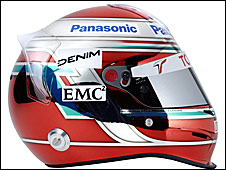 Jarno Trulli's 2009 helmet