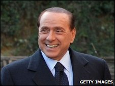 Silvio Berlusconi in the UK, 19 Feb