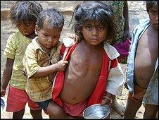 Children in Madhya Pradesh state