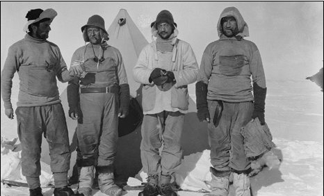 Scott expedition team members