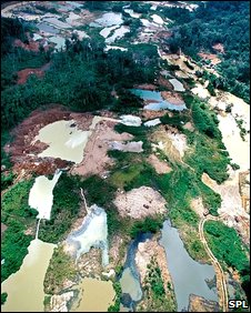 Gold mine wash pools (SPL)