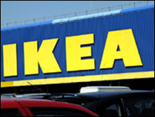 Ikea sign