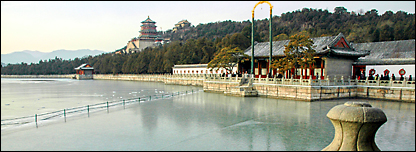 القصر الصيفي ببكين (علي الشواف - بي بي سي)