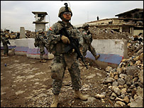 جندي امريكي في الموصل