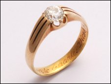Charles Dickens' ring