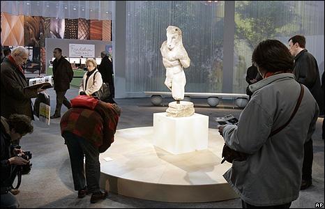Roman marble minotaur