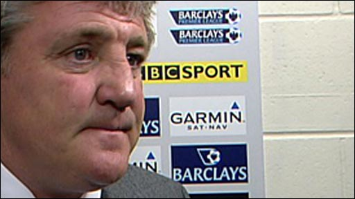 Wigan manager Steve Bruce