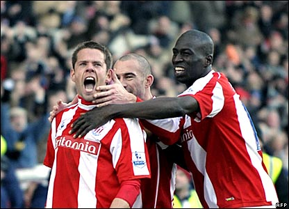 James Beattie, Mamady Sidibe, Stoke City