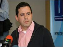 El director del DAS, Felipe Mu�oz (Foto: Cortes�a del DAS)