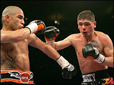 Miguel Cotto and Michael Jennings