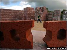 A broken brick