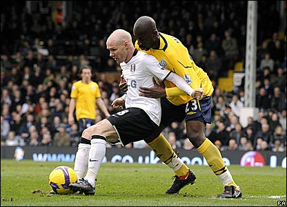 Andy Johnson, Fulham; Abdoulaye Meite, West Bromwich Albion