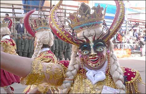 Dancers in Oruro