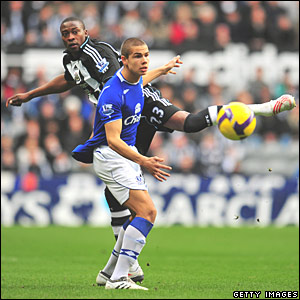Shola Ameobi, Newcastle United; Jack Rodwell, Everton