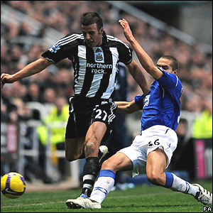 Steven Taylor, Newcastle United; Jack Rodwell, Everton