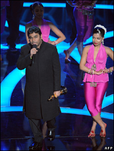AR Rahman performing at the Oscars