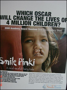 Smile Pinki poster (Picture: Dr Subodh Kumar Singh)