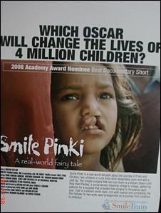 Smile Pinki poster (Picture: Dr Subodh Kumar Singh)