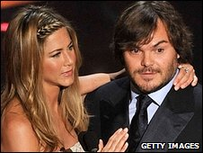 Jennifer Aniston and Jack Black