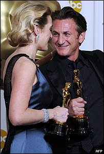 Kate Winslet y Sean Penn